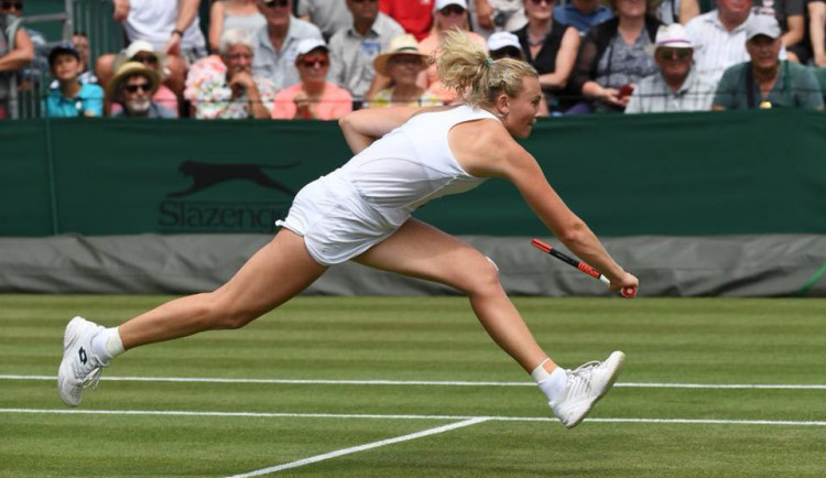 Siniaková na Wimbledonu končí, nestačila na Italku Giorgiovou