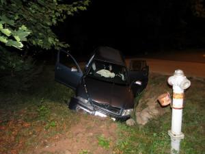 Na Trutnovsku bourali dva opilí řidiči, jeden z nich má přitom zákaz řízení