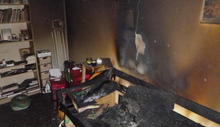 Požáru v paneláku si tři dny nikdo nevšiml