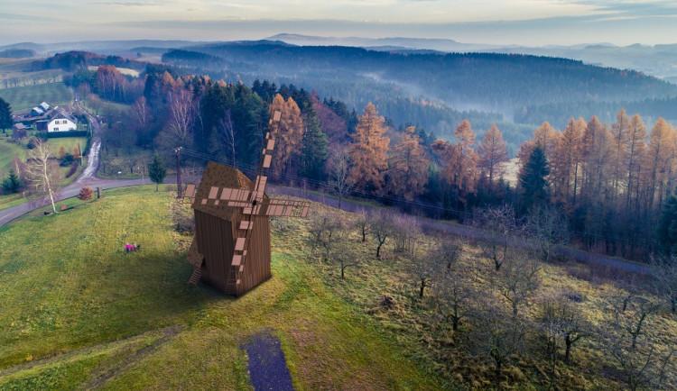 FOTO: Do Borovnice se vrátí větrný mlýn, kdysi jich tam bylo pět
