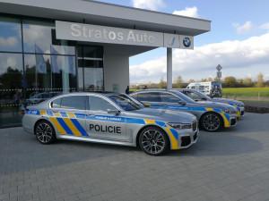 Nejmodernější služební auta Policie ČR budou jezdit jen kousek od Hradce