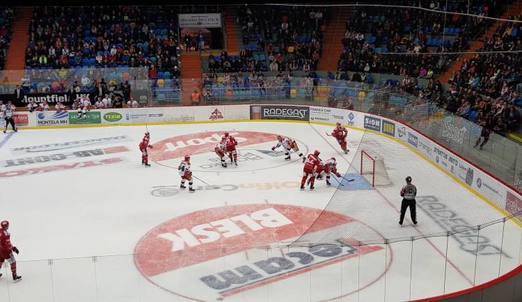 Hokejisté Hradce si proti Třinci připsali čtvrtou prohru v řadě