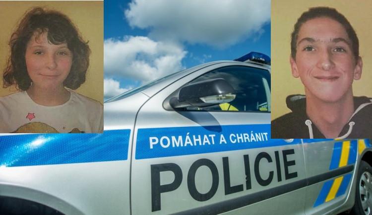 Policie žádá veřejnost o pomoc. Pátrá po dvou zmizelých dětech z dětského domova