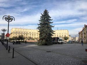 Krajská metropole se dnes poprvé rozzáří ve vánočním kabátu. Slavnostní rozsvícení se chystá na Masarykově náměstí
