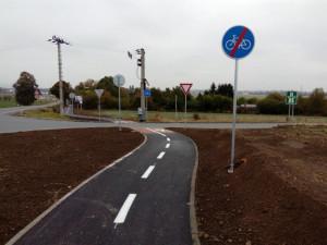 Cyklostezky spojující Pouchov, Piletice a Rusek budou pro cyklisty zprovozněné již na začátku roku