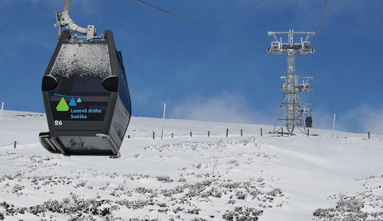 Lanovka na Sněžku je po údržbě v provozu, jede ale jen dolní úsek