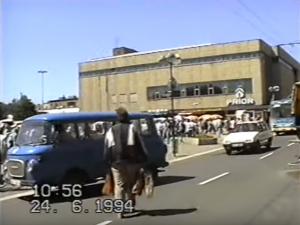 VIDEO: Jak vypadal Hradec Králové v roce 1994?