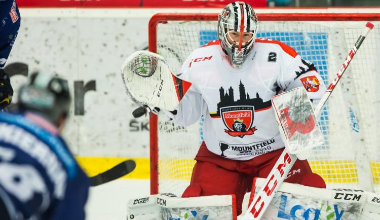 Hradecký brankář Mazanec byl vybrán mezi pětici nejužitečnějších hráčů hokejové Ligy mistrů