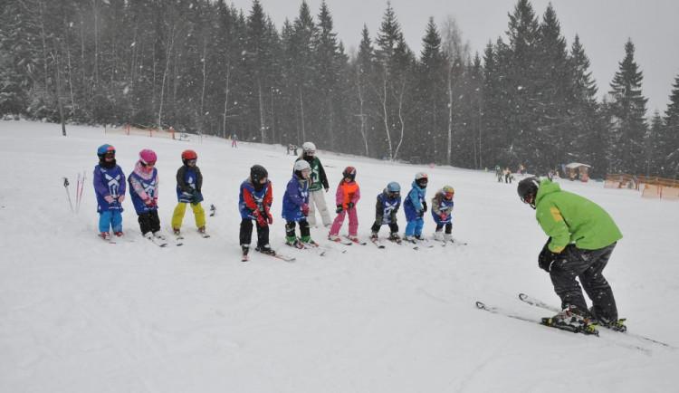 V Královehradeckém kraji se podmínky pro lyžování zhoršily
