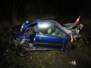 U Lochenic došlo k hromadné nehodě pěti vozidel. Čtyři osoby skončily v nemocnici