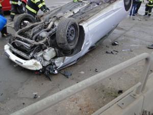 Nehoda autobusu na tahu z Hradce Králové nebyla o víkendu jediná