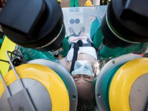 Muž hospitalizovaný v Pardubicích je v pořádku. Test na koronavirus byl negativní