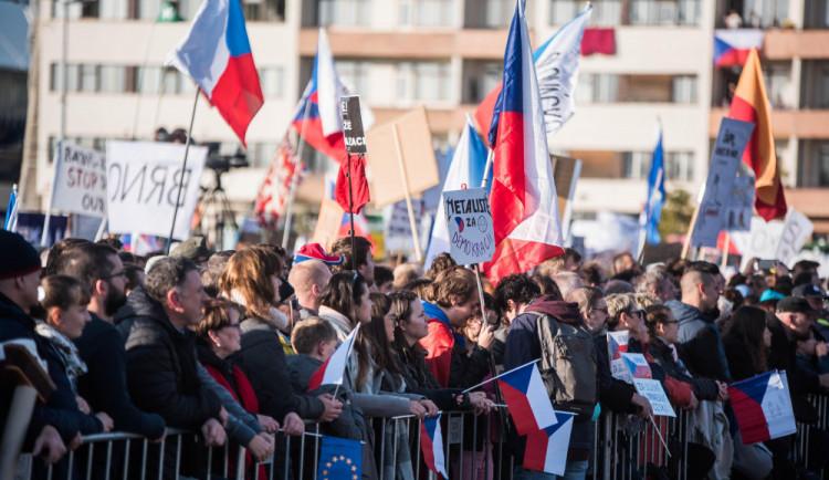 Spolek Milion chvilek chystá další demonstrace. 24. března přijde na řadu Hradec Králové