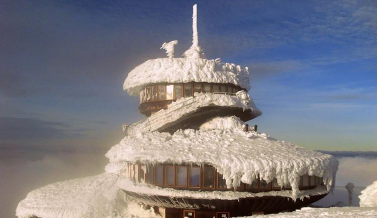 Vítr na Sněžce překonal rekord. Foukal rychlostí 223 kilometrů za hodinu