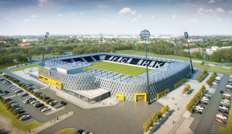 Včervnu chce mít město firmu, která postaví fotbalový stadion vHradci Králové
