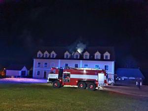 Požár restaurace na Broumovsku způsobil škodu za 350 tisíc korun