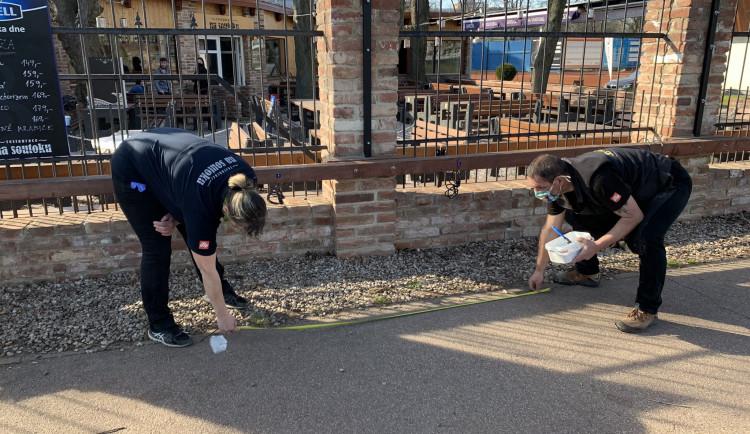 Policie v Hradci Králové řešila frontu na pivo i lidi relaxující na louce
