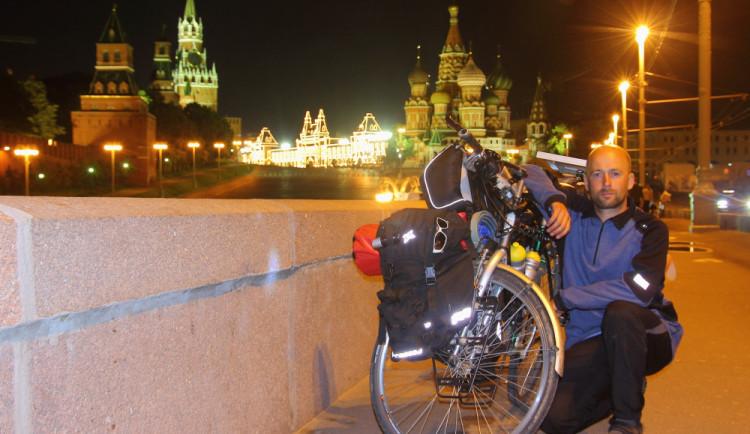 Ivo Janeček projel 39 států Evropy na kole. Vnohách má přes 37 tisíc kilometrů