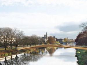 Stavba lávky přes Labe v lokalitě Aldis v Hradci Králové, započne až na podzim příštího roku