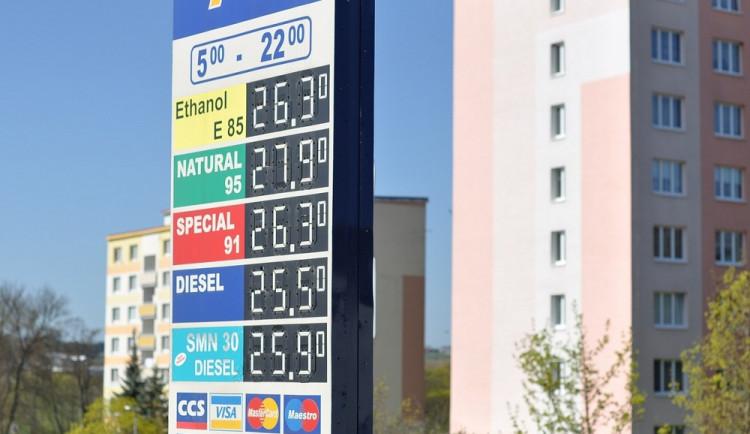 Levnému tankování je konec. Ceny pohonných hmot letí v kraji opět nahoru