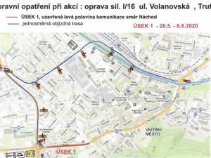 V úterý se uzavře průtah z Trutnova na Polsko. Silnici čeká oprava
