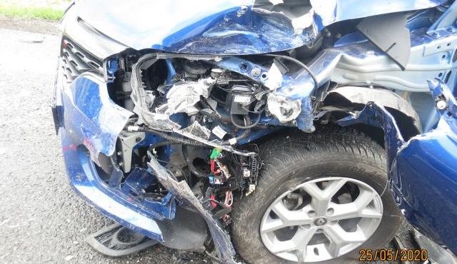 Za dopravní nehodu u Holovous mohla nepozornost řidiče