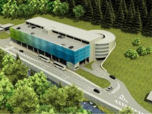 Dopravní terminál v Peci pod Sněžkou bude hotový v září, provoz začne v zimě