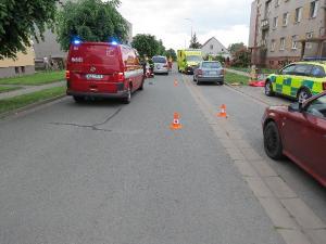 V Černožicích došlo v krátké době k další dopravní nehodě, vážně se při ní zranil desetiletý chlapec