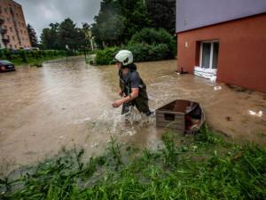 Povodně, které se prohnaly ve čtvrtek krajem napáchaly škodu odhadem za 17 milionů
