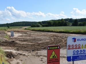 Začala stavba obchvatu Domašína v zóně Kvasiny. Stát bude 135 milionů korun