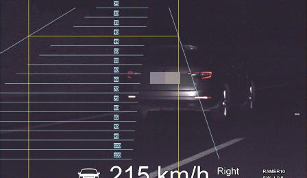 Další rekordman na D11. Po dálnici se řítil rychlostí 215km/h