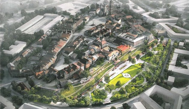 Severní terasy v Žižkových sadech v Hradci Králové se dočkají rekonstrukce. Práce mají územní rozhodnutí