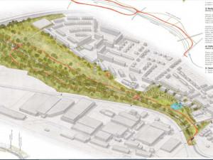 Zónu Cidlina v Jičíně vyprojektuje Rehwaldt Landscape Architects