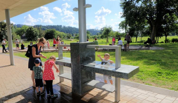Letní pítka v Náchodě čeká údržba. Na suchu budou přes týden