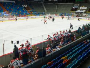 První zápas Generali Česká Cup Hradec Králové vyhrál. Druhý hraje zítra na domácím ledě