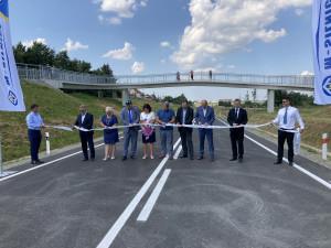 Od zítřka budou řidiči jezdit po novém obchvatu Opočna. Slavnostně byl otevřen dnes