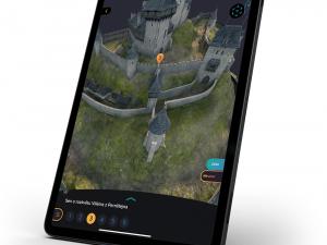 Návštěvníci Potštejna se mohou aplikací vrátit do 14. století