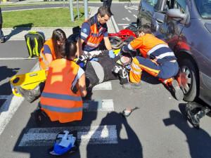 Záchranáři dnes představili aplikaci, která jim umožňuje být na místě nehody ještě před faktickým příjezdem