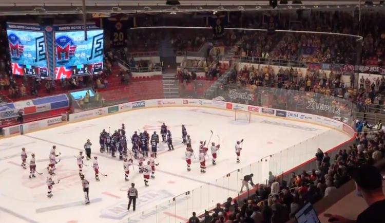 Hokejisté hradeckého Mountfieldu ovládli první extraligový zápas. České Budějovice porazili s přehledem 5:1