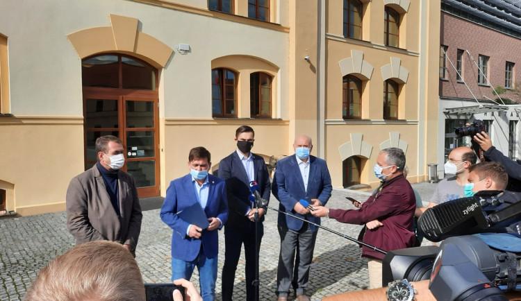 Budoucí hejtman Červíček bude mít pět náměstků. Koaliční smlouva se podepíše příští týden