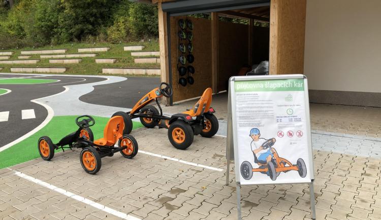 Trutnov má nové dopravní hřiště. Využít ho může i veřejnost