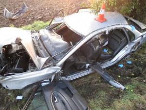 Pro motorkáře letěl do Častolovic vrtulník záchranářů. S těžkým zraněním skončila i nehoda u Stračova