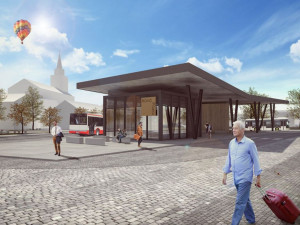 Nová Paka má nový autobusový terminál. Fungovat začne příští měsíc