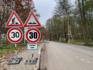 Bruslaři se dočkají nové silnice na Hradečnici