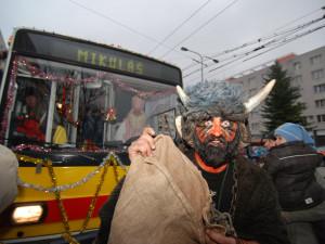 Hradec Králové ruší Mikulášský trolejbus. Připravuje alespoň tištěnou vzpomínku k 30. výročí této akce
