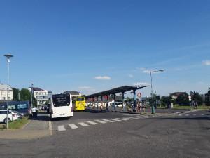 V Jičíně klesly tržby z užívání autobusového nádraží. Může za to i situace kolem koronaviru