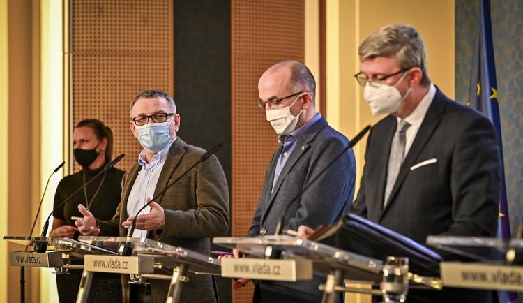 Vláda prodloužila nouzový stav v Česku. Bude trvat do 23. prosince