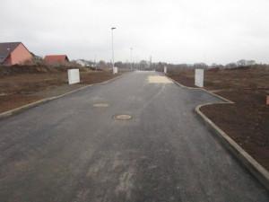 V lokalitě Šalounova v Hořicích byla dokončena příprava nových stavebních parcel