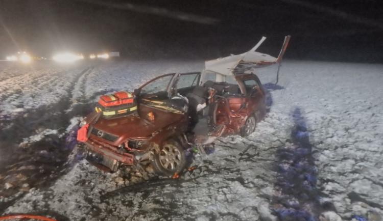 U Častolovic došlo k tragické dopravní nehodě, zasahovaly všechny složky IZS