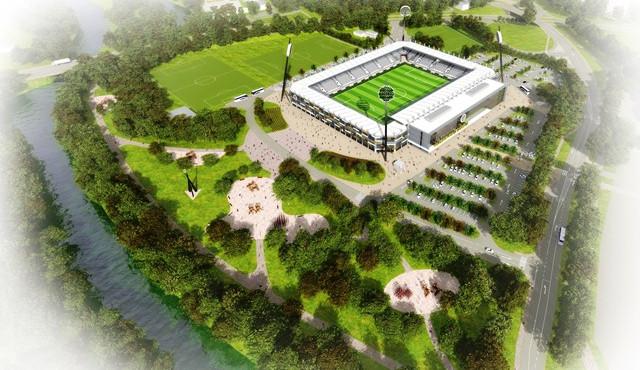 O stavbu hradeckého fotbalového stadionu projevily zájem čtyři subjekty